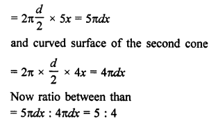 RD Sharma Math Solution Class 9 Chapter 20 Surface Areas and Volume of A Right Circular Cone