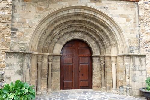 Pórtico Santa María la Mayor de Añón S.XIII