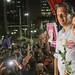 Manuela D'Ávila, Ana Estela e Fernando Haddad no ato #PrimaveraDasMulheres, nesta terça-feira (25/9), na Praça Ramos de Azevedo, em São Paulo. #HaddadPresidente Fotos: Ricardo Stuckert
