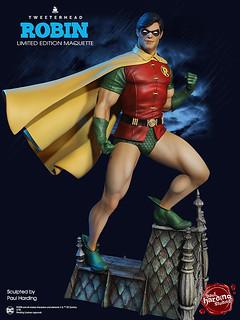 Tweeterhead Super Powers 系列 DC Comics【羅賓】Robin 1/6 比例全身雕像作品