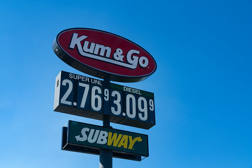 1864oldhighway141 4127 7124284877 iowa kg kumgo sloan conveniencestore diesel fuel fuelstation fuelingstation gas gasprice gasprices gasstation gasoline interstate interstate29 price sign signage subway superunleaded unleaded