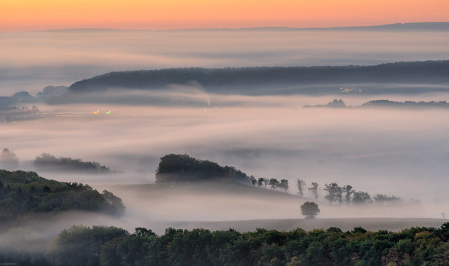 *Valley of the morning mist @ new work*
