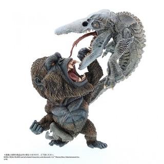 X-PLUS《金剛:骷髏島》金剛 vs. 骷髏爬行怪【少年RIC限定】!デフォリアル コング vs. スカルクローラー