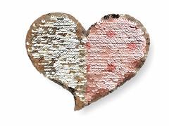 Wendepailletten Applikation, GLAM HEART