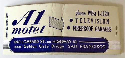 A 1 MOTEL SAN FRANCISCO CALIF