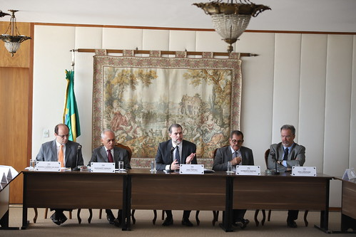 Reunião no STF, com os Ministros do TCU e Ministros de Estado