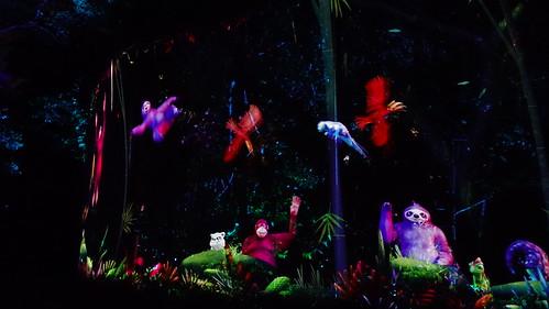 新加坡動物園雷射秀