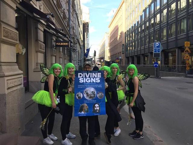 21-September-2018-LEAFLETING-Helsinki, Finland