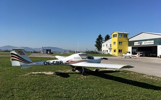 Charly-Bravo-Romeo @ Gmunden Aerodrome (LOLU)