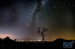 Night Glow from Fresno