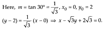 NCERT Solutions for Class 11 Maths Chapter 10 Straight Lines 22