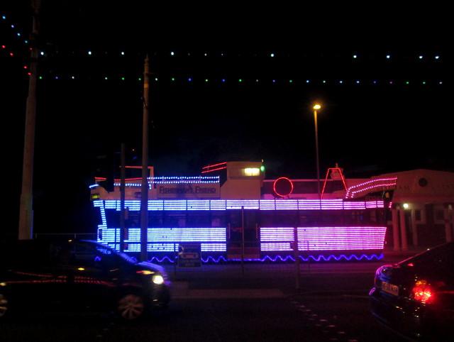Blackpool Illuminations, Tram