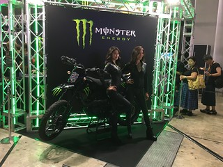 2018 Tokyo Game Show Monster Energy booth