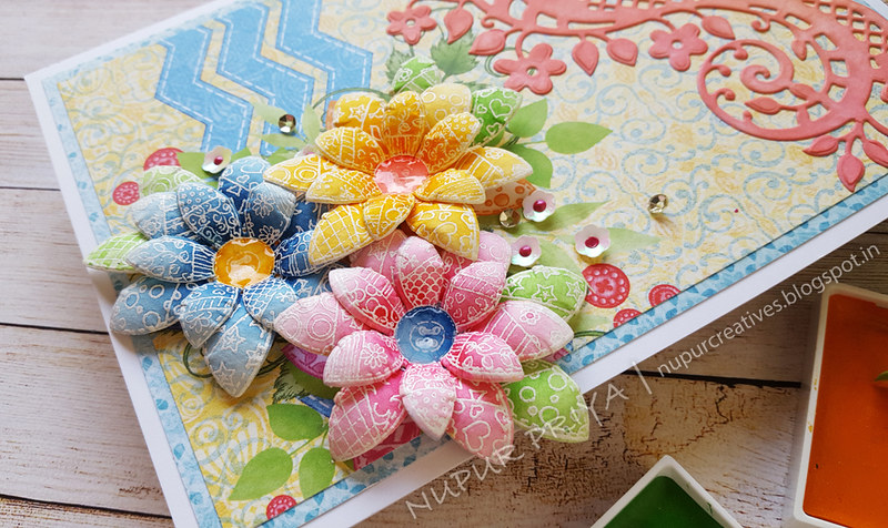 Buttons & Blooms Card 3