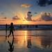 Bathing at sunset  - Tel-Aviv beach - Follow me on Instagram:  @lior_leibler22 by Lior. L