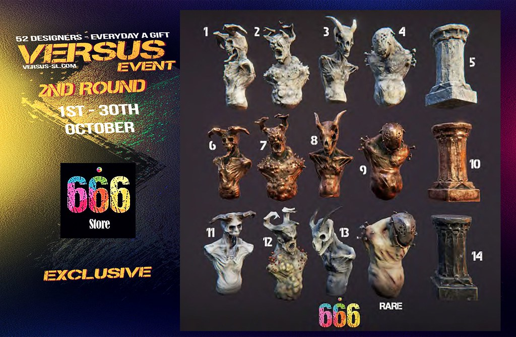 VERSUS EVENT 2ND ROUND 666 Exclusive - TeleportHub.com Live!