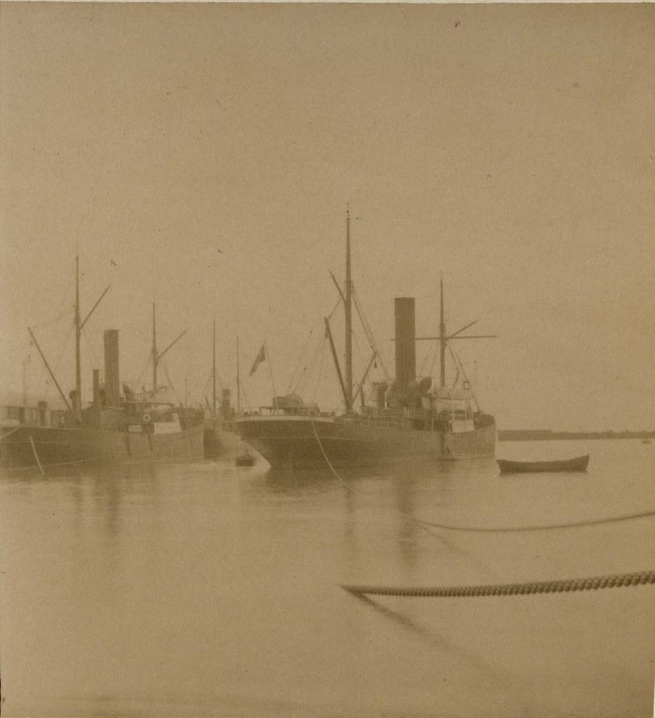 Порт. Средний мол