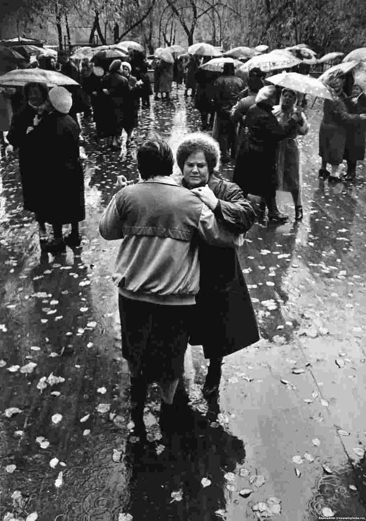 1989. Танцплощадка в Останкинском парке. Москва
