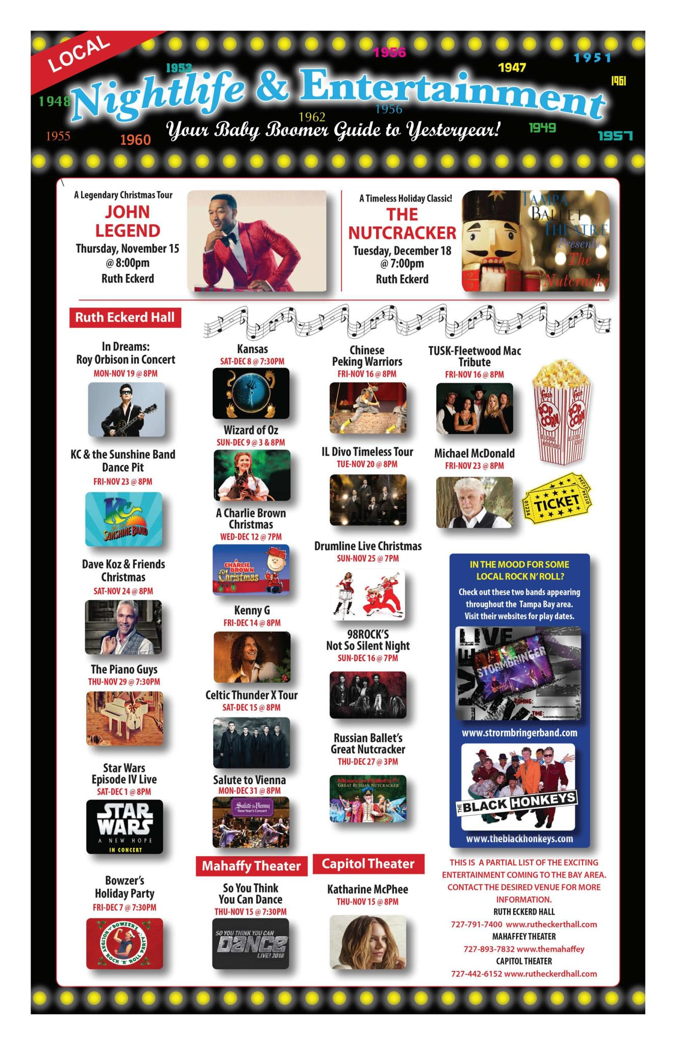 Boomerz Magazine 2018 November Ruth Eckerd Hall