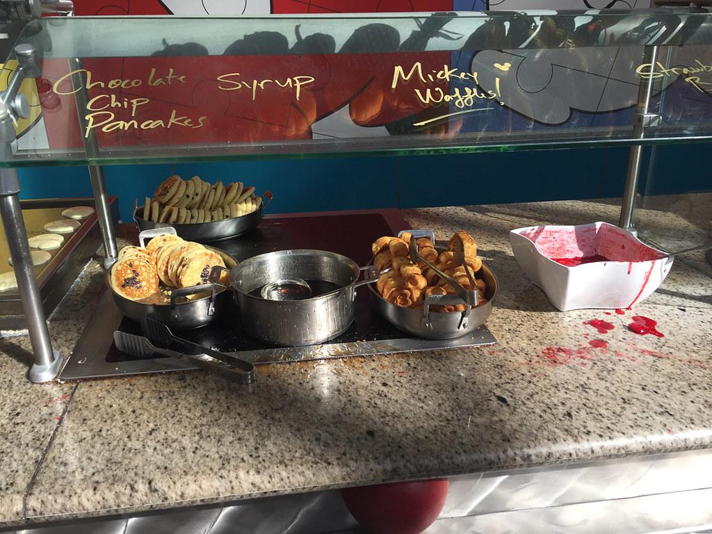 Food at Chef Mickey
