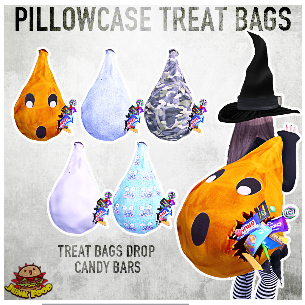 Junk Food – Pillowcase Treat Bags