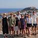 A group photo at Lindos