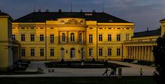 Castle Károlyi, sunset