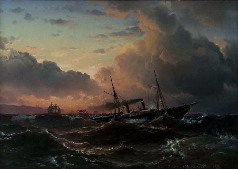 Carl Frederik Sorensen - Copenhagen ferry