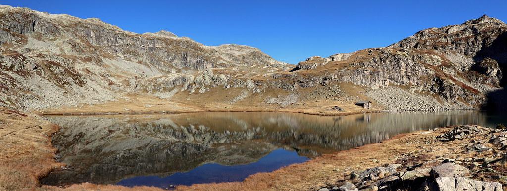 Panoramique Lac de la Corne (2 100 m)
