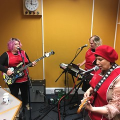 iDoris + Deerful performing live in session on The deXter Bentley Hello GoodBye Show on Resonance 104.4 FM in Central London on Saturday 6th October 2018