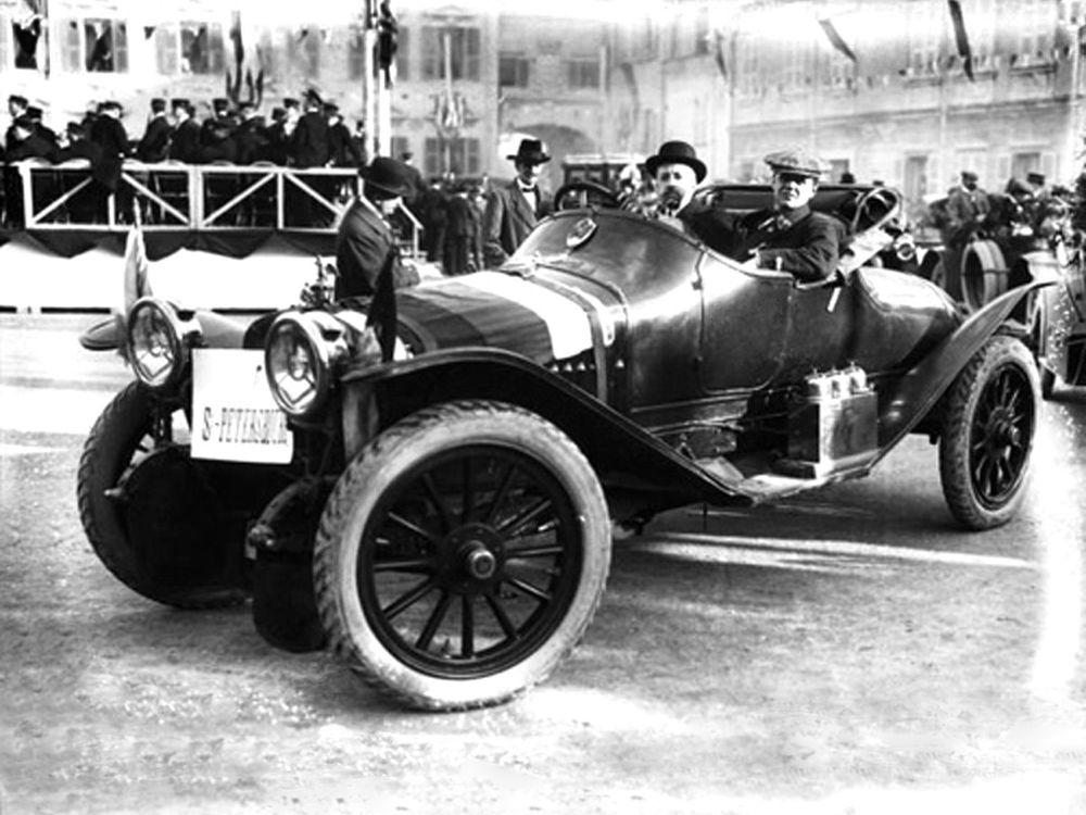 «Руссо-балт С-24/58», участник Гран-при в Монте-карло