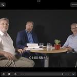 Mit Helmut Lambers und Martin Klein, August 2018