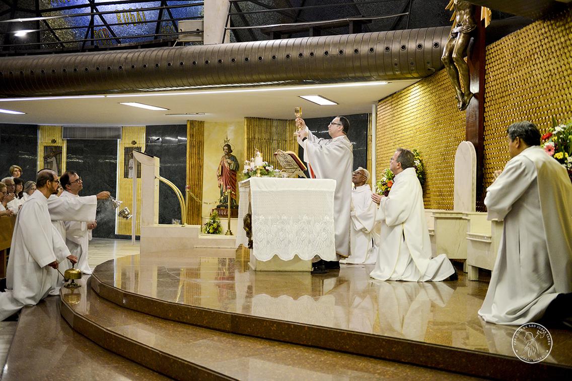 18/10/2018 :: Missa de 4º Aniversário da Dedicação da Igreja e Consagração do Altar