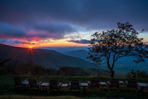 transylvaniacounty transylvania nc northcarolina mountains mountain sunrise tree