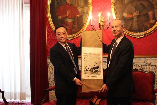 UC assina acordo com a Academia de Ciências Sociais da China