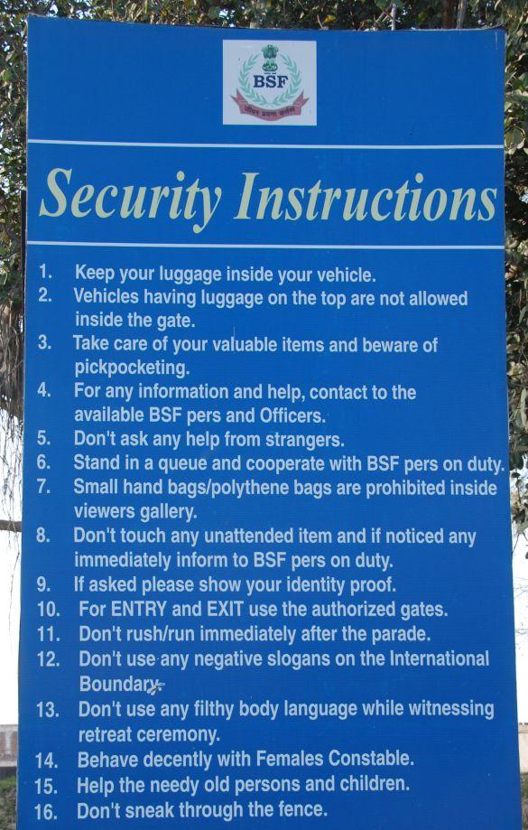 DSC_9921AmritsarWagahSecurityInstructions