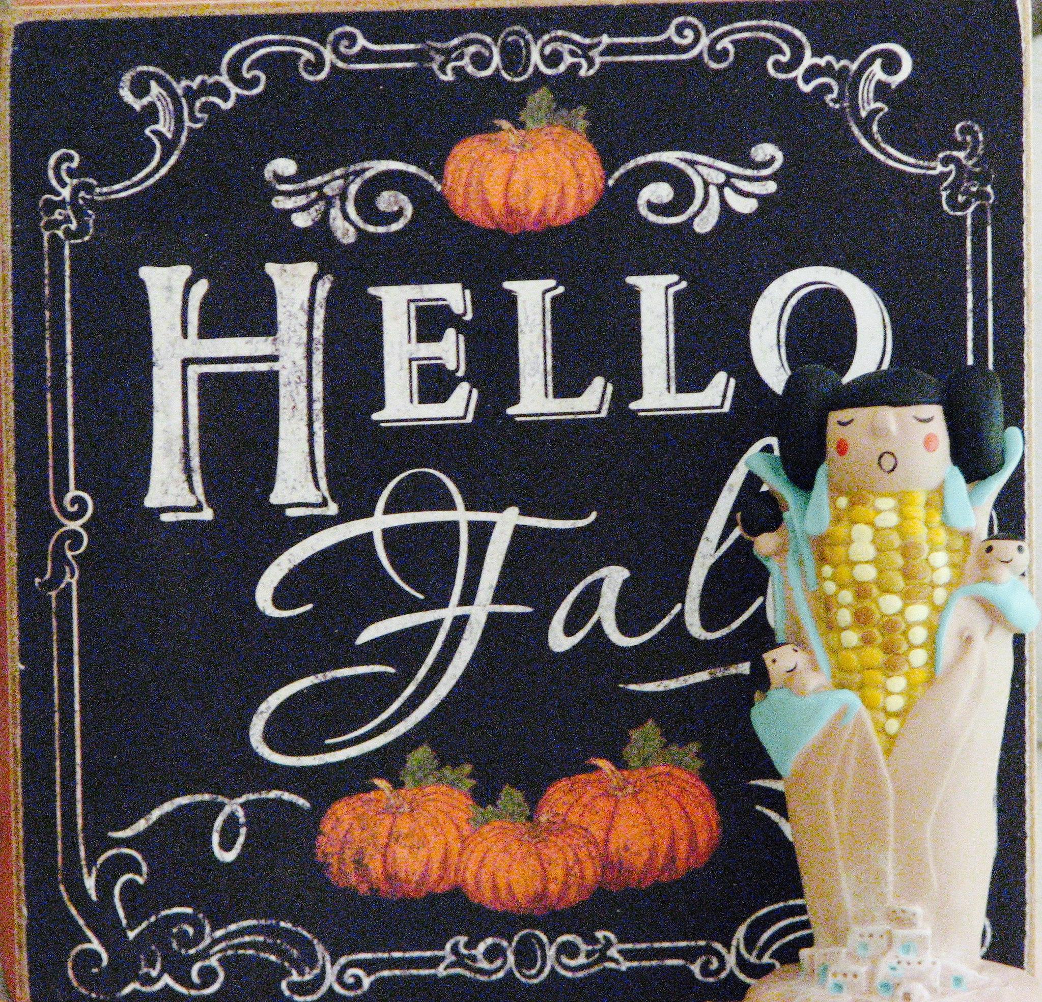 Fall Corn Maiden