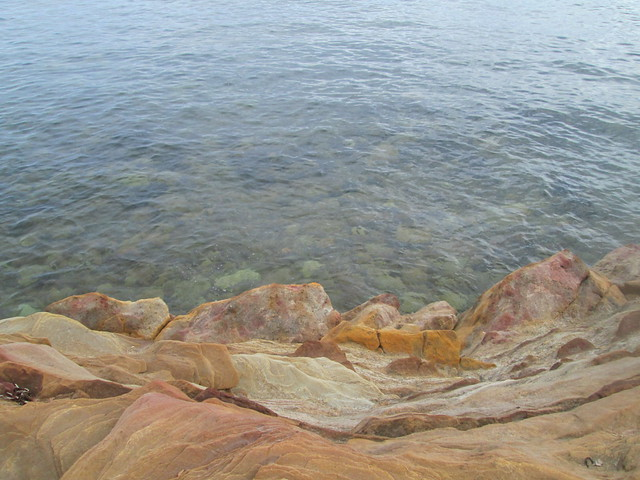 Rocks and Sea