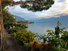 Montreux and Lake Geneva (Lac Léman)