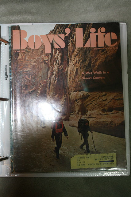Boys Life November 1975, Canon EOS DIGITAL REBEL XSI, Canon EF-S 18-55mm f/3.5-5.6 IS