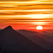 Sonnenuntergang am Säuling by stefangruber82