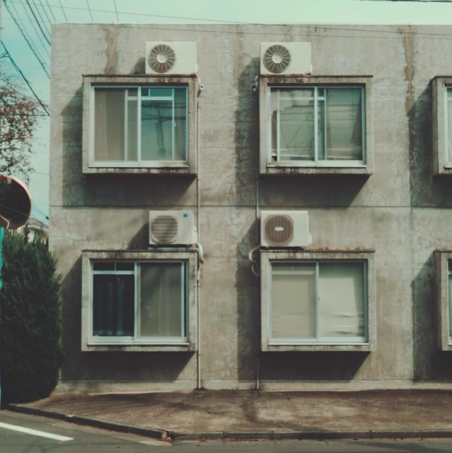 Concrete apartment