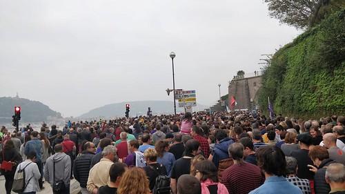 'Orain presoak': manifestazioa Donostian