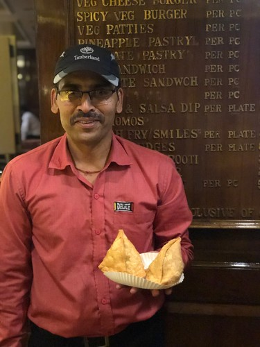 City Food - Maha Samosa, Delite Cinema