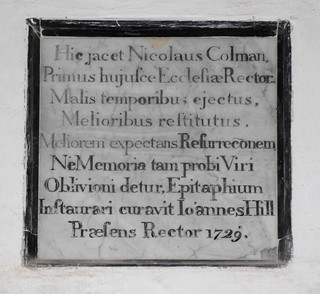 malis temporibus ejectus, melioribus restitutus
