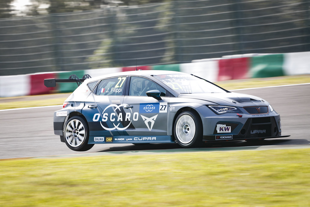 27 FILIPPI John, (fra), Seat Cupra TCR team Oscaro by Campos Racing, action during the 2018 FIA WTCR World Touring Car cup of Japan, at Suzuka from october 26 to 28 - Photo Clement Marin / DPPI
