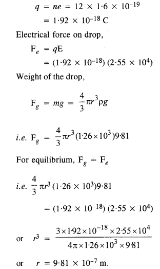 NCERT Solutions for Class 12 physics Chapter 1.23