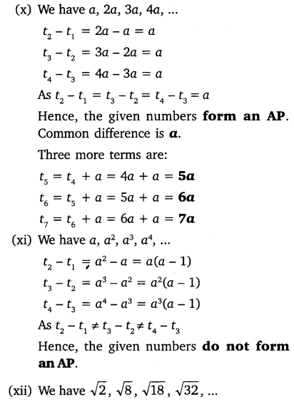 NCERT Solutions for Class 10 Maths Chapter 5 Arithmetic Progressions 13