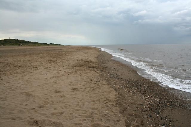 The beach at Chapel St Leondards