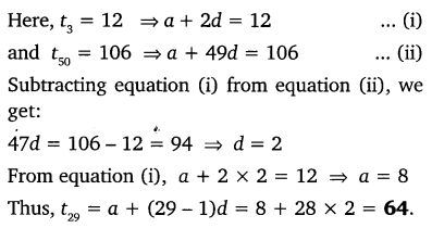NCERT Solutions for Class 10 Maths Chapter 5 Arithmetic Progressions 30